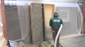 Prefabricated Hemp Lime Wall