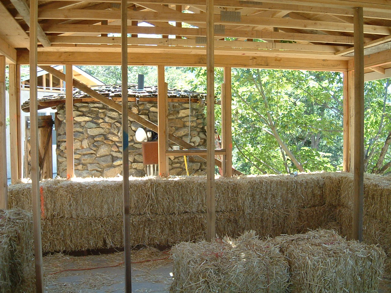 Framing Bale Walls: How to