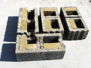 Faswall Blocks (Courtesy of Shelter Works)