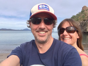 Andrew and his partner Gabriella are conscious about stress from work and enjoy their time off