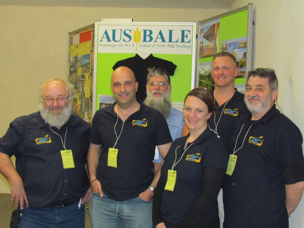 Strawbale and Earth Builders Converge on Adelaide (AUSBALE)