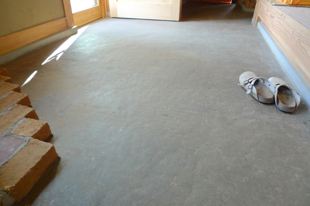 Tataki: Japanese Traditional Earthen Floor